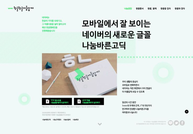 DCafeIn Website - NAVER Hangul