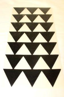 Hawaiian Honu Tribal Tattoo Sea Turtle Black Decal Car Vinyl Sticker 3x3 New Triangle Tattoos