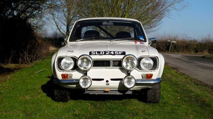 Ford Escort RS2000 Mk 1 Works Rally Recreation : Historic Rally Cars