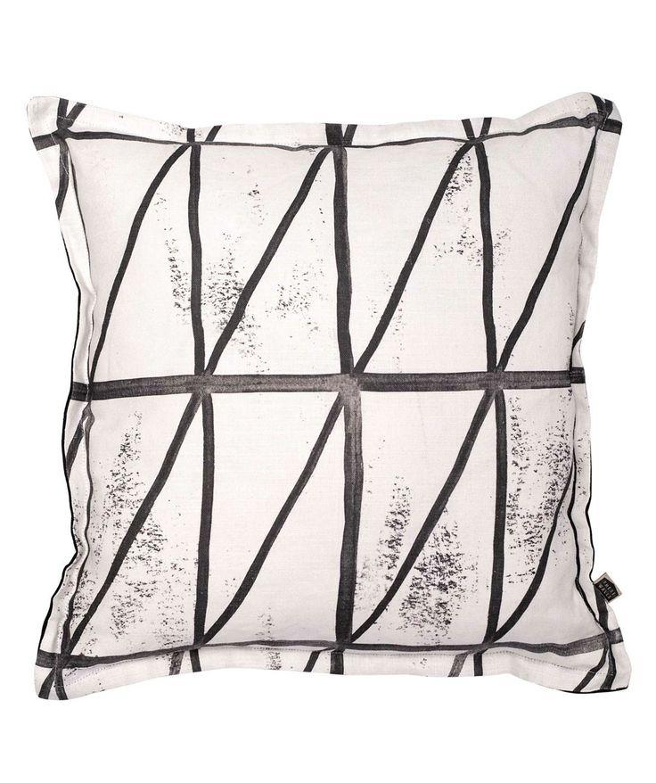 Asymmetry Mono Cushion - These Walls