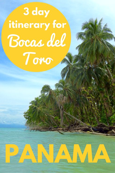 Adoration 4 Adventure's 3 day itinerary for Bocas del Toro, Panama. Including island hoping, sloth sightings, dolphin encounters and serene beaches.