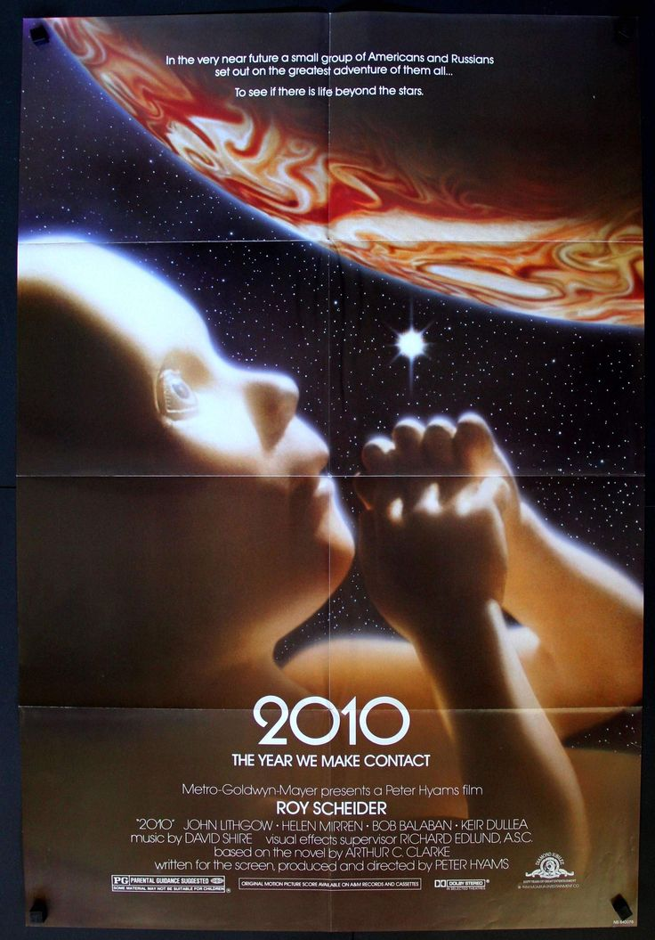 """2010: The Year We Make Contact (1984) Original Movie Poster - 27""""x40"""" - Original Film Art - Vintage Movie Posters"""