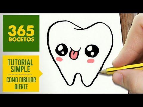 COMO DIBUJAR OLAF KAWAII PASO A PASO - Dibujos kawaii faciles - How to draw a Olaf - YouTube