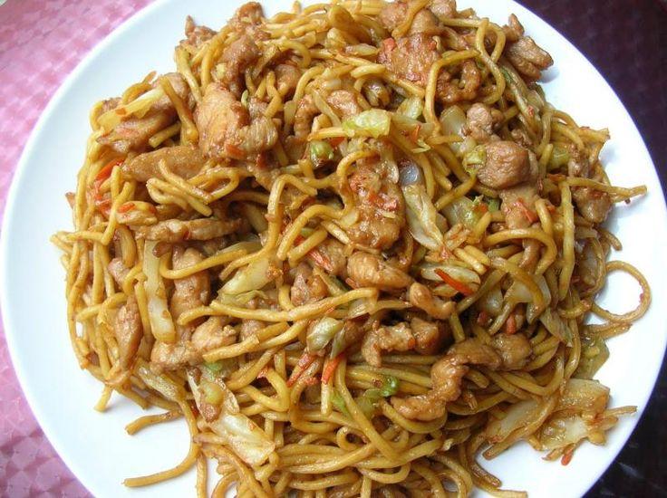 Pork Chow Mein on Pinterest | Easy chow mein recipe, Beef chow mein ...