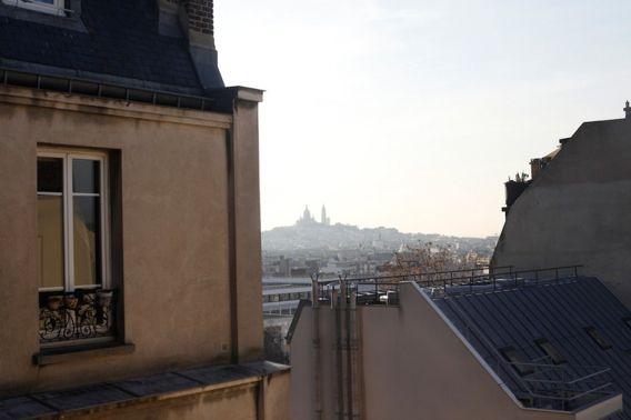 Paris: rooftop view