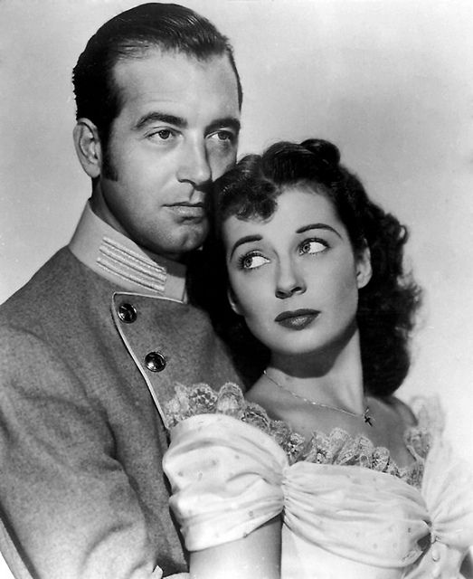 John Russell Actor | Home » John Payne » John Payne And Gail Russell Publicity Photo For ...