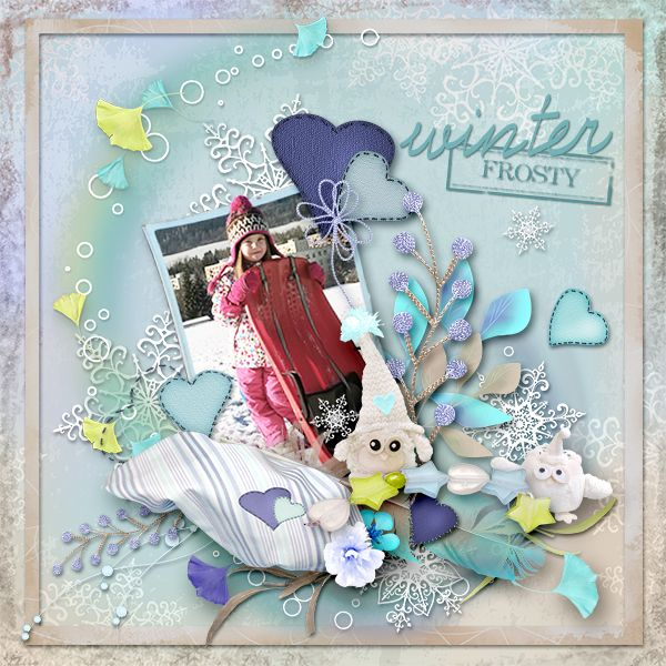 * Snowy Featherbed* by MiSi Scrap  http://www.digiscrapbooking.ch/shop/index.php…
