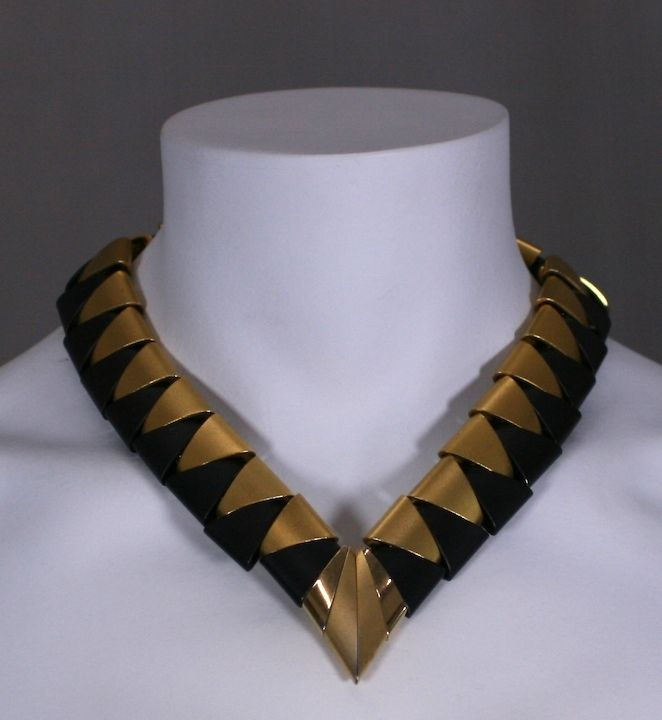 Architectural 80s Necklace 3