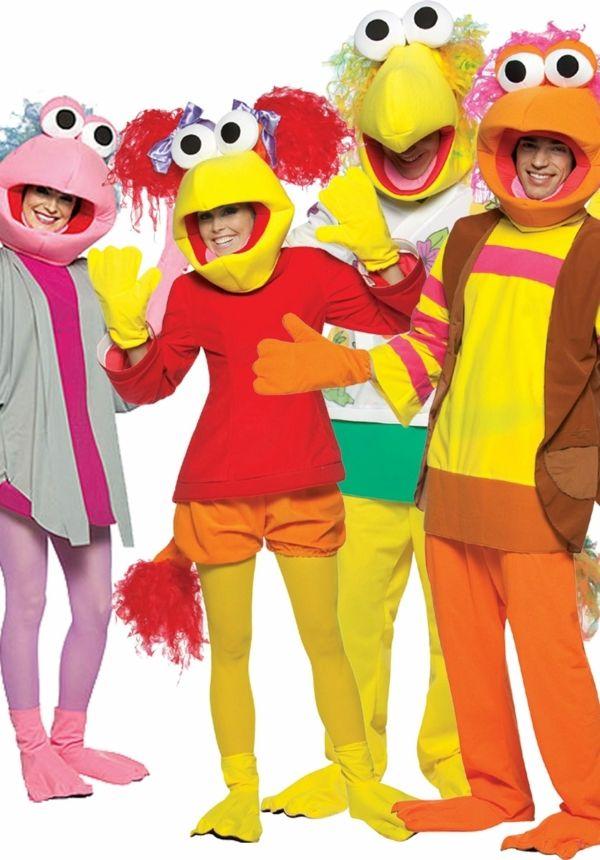 sesam straße karneval gruppenkostüme