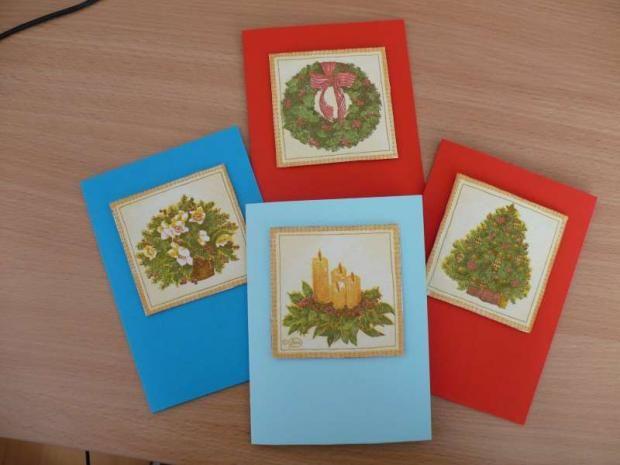 ...vianočné pohľadnice...