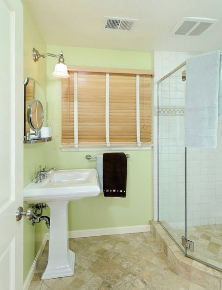give your bathroom a calming color