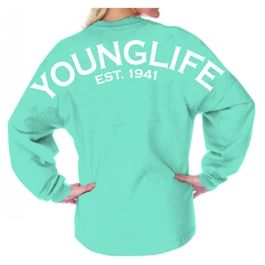 Young Life Spirit Jersey are back in stock! Get them while you still can.....