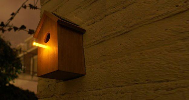 Solar vogelhuisje van Oooms - EcoZo