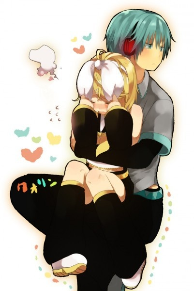 Vocaloid- Mikuo and Rin