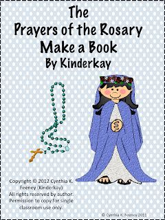 Faith Filled Freebies: Teaching Little Ones the Prayers of the Rosary