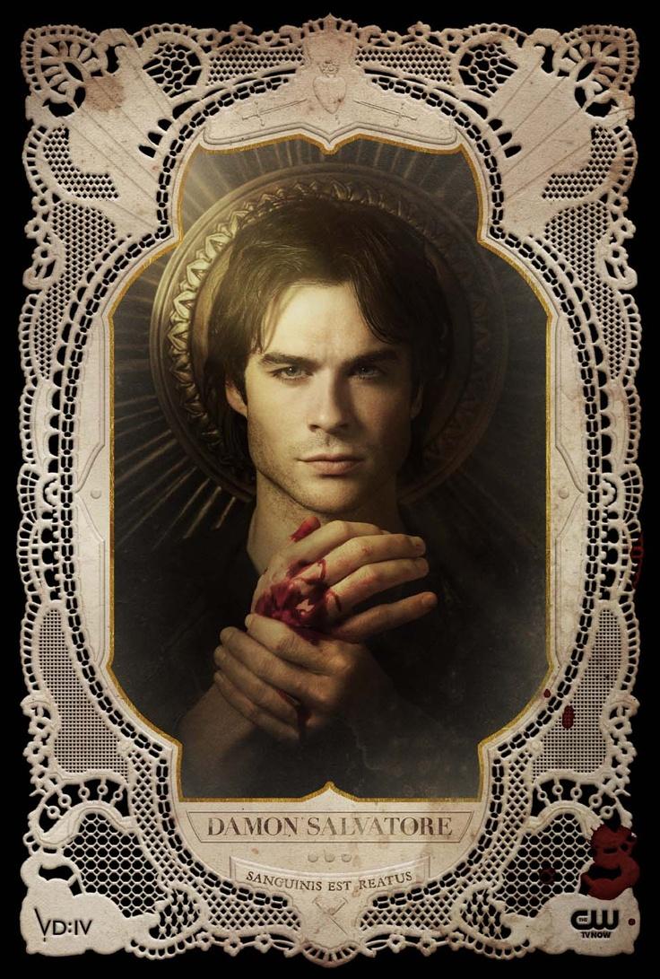 Damon - TVD - The Vampire Diaries: http://spotseriestv.blogspot.com.br/search/label/the%20vampire%20diaries Ian somerhalder delena nian