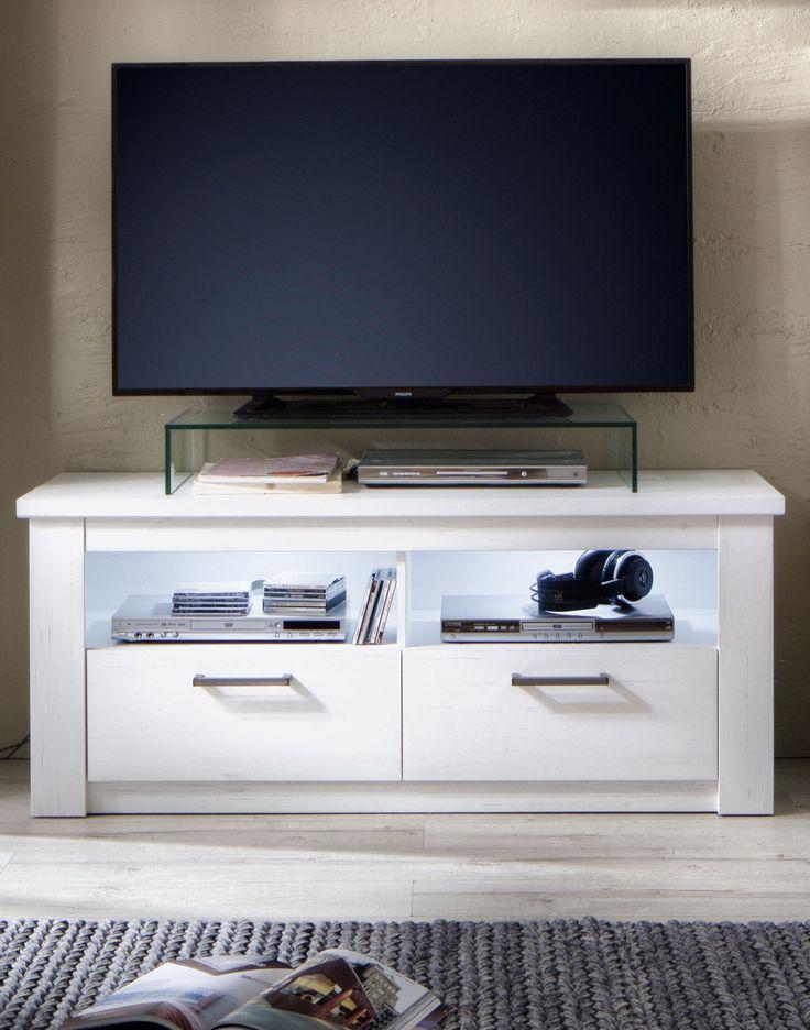Die besten 25+ Lowboard weiß holz Ideen auf Pinterest Ikea tv - mobel weis wohnzimmer