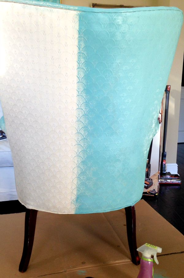 Painting upholstery with Annie Sloan paint - Does it really work? See the process at Fresh Idea Studio.