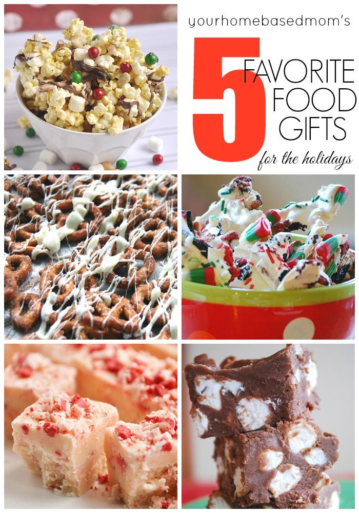 199 best christmas images on pinterest christmas desserts xmas five favorite food gift ideas forumfinder Images