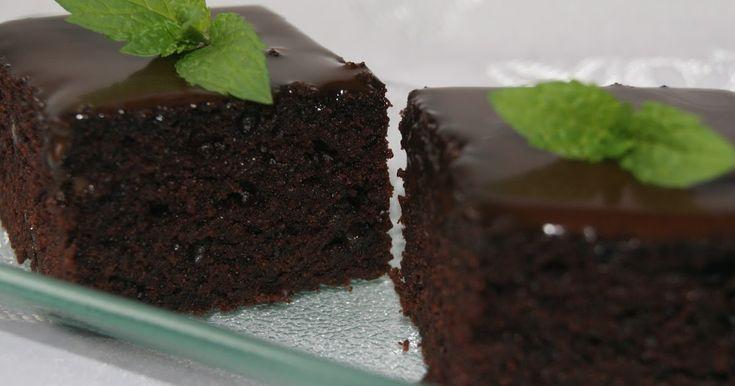gotowanie moimi oczami: Wilgotne czekoladowe ciasto