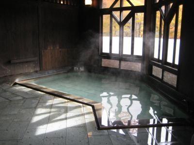 肘折温泉郷:Hijiriori-Onsen:Yamagata