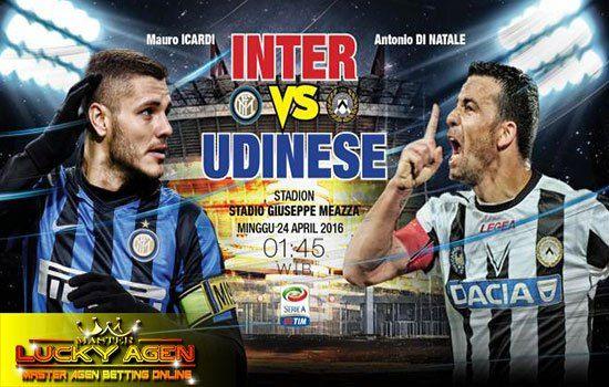 Prediksi Bola Akurat Inter Milan vs Udinese 29 Mei 2017