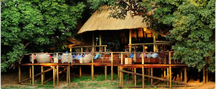 the deck at Bilimungwe - great place to relax!