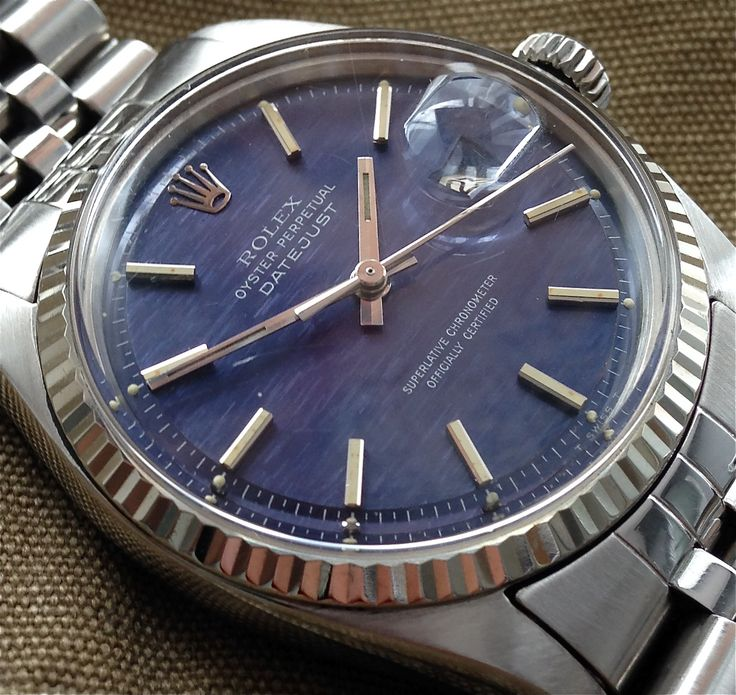 Beautiful blue dial Datejust