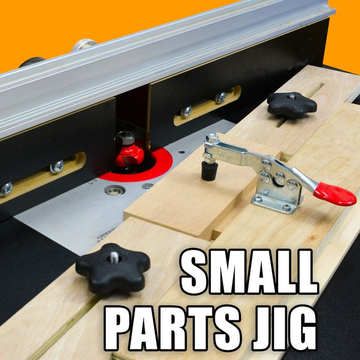Make this Small Parts Holding Router Jig for your Router Table.