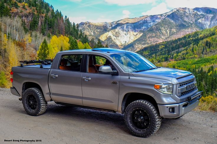 Desert Dawg's Custom 2015 Toyota Tundra 1794 Edition CrewMax 4X4 - Lifted