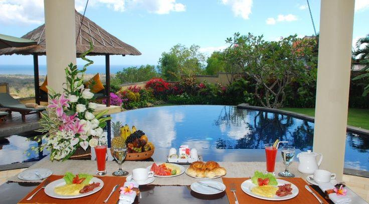 Villa Ocean View Frangipani Breakfast