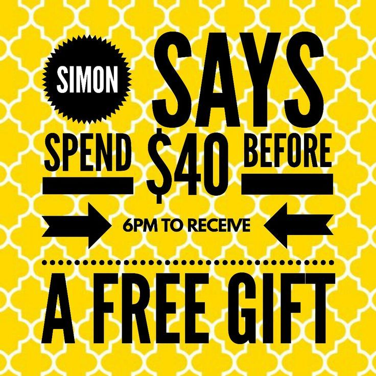 Simon Says Game: Spend And Earn. #ThirtyOne