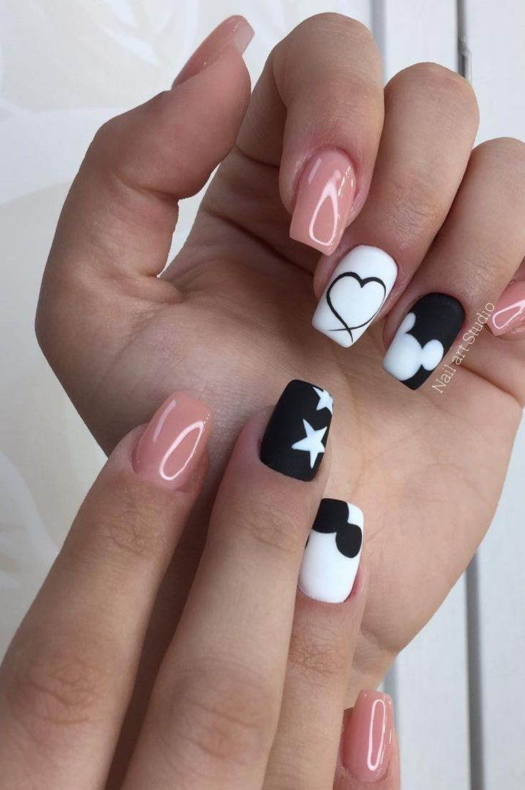 Nail Art: 42 Free The Best 5 Ways To Design Your Nails New 2019  Page 17 of 42 #nailart #nails