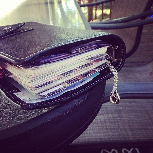 Wonderfully stuffed! #filofax #malden #personal #filofaxlove #filofaxaddiction