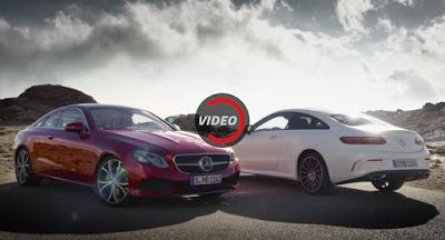Neue Mercedes-Benz E-Klasse Coupe Hits The Road In First Official Trailer Mercedes Mercedes E-Class Mercedes Videos New Cars Video