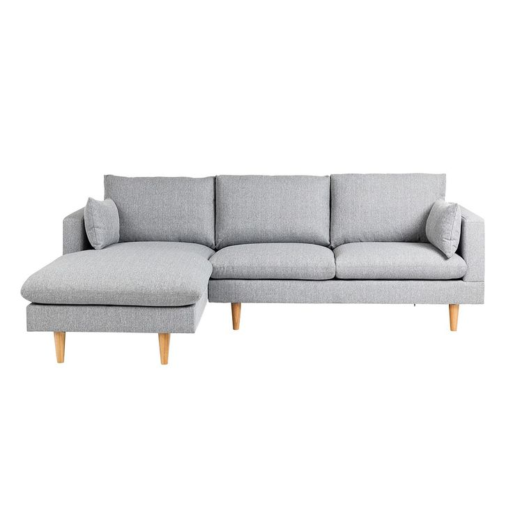 Sofas, sedrick sofa with left-hand chaise - light grey