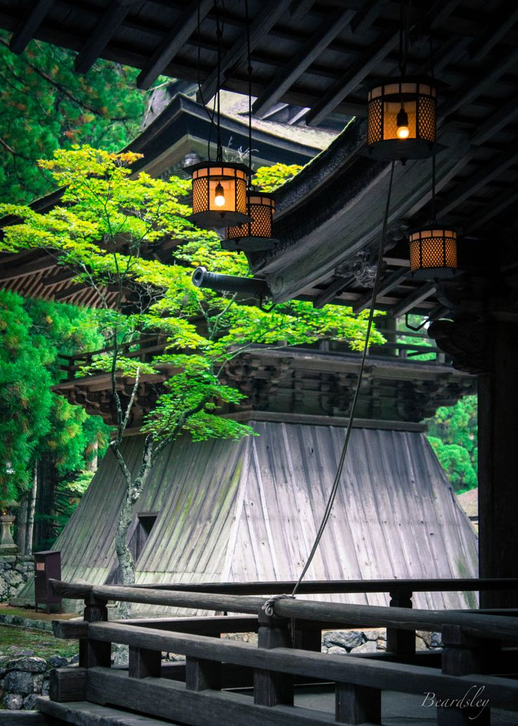 knowledgecollection:Lanterns at Danjo Garan (壇場伽藍), KoyasanKoyasan is an incredible destination, perhaps my favourite in Japan. Serene is the best way to describe it - ancient temples, rock gardens, a sacred graveyard, all set atop a mountain surrounded by forest.
