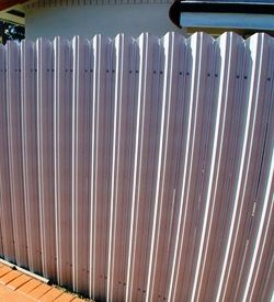 78 Images About Industrial Metal Style Fence Ideas On