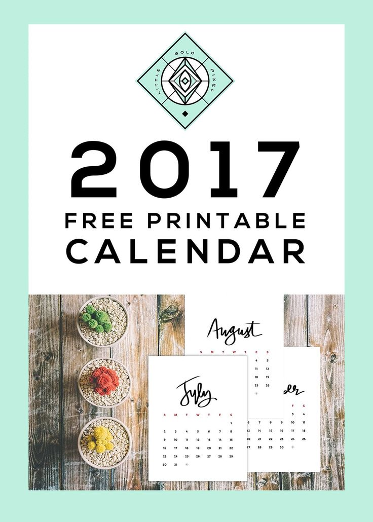 85 best Free Printables \u2022 Calendars images on Pinterest Activities