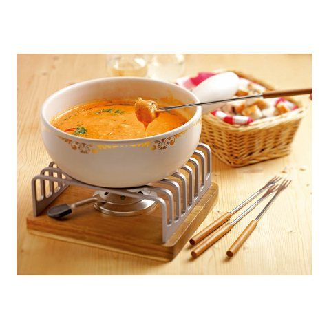 Tomato-cheese fondue - Fondue / Raclette - Recipes - World of cooking - KUHN RIKON SWITZERLAND