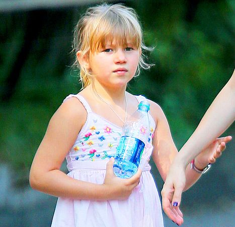 She's looking SO MUCH like her daddy! -- Matilda Ledger, 7-year-old daughter of the late Heath Ledger.