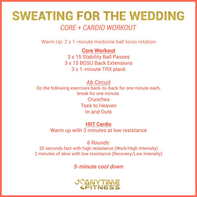 Printable Cardio Workouts: 18 Best Sweating For The Wedding Images On Pinterest