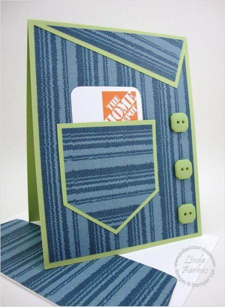 FOR HIM... - Stampin' Up! Demonstrator - Linda Aarhus - Simple to Sublime!