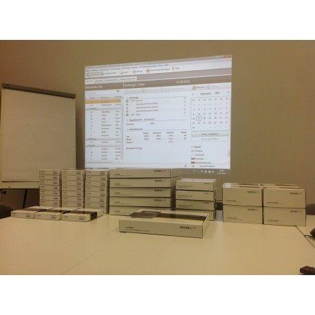 Kundenprojekt Zeiterfassung und Zutrittskontrolle mit Reiner SCT #Zeiterfassung #Zutrittskontrolle #timeCard #Reiner SCT