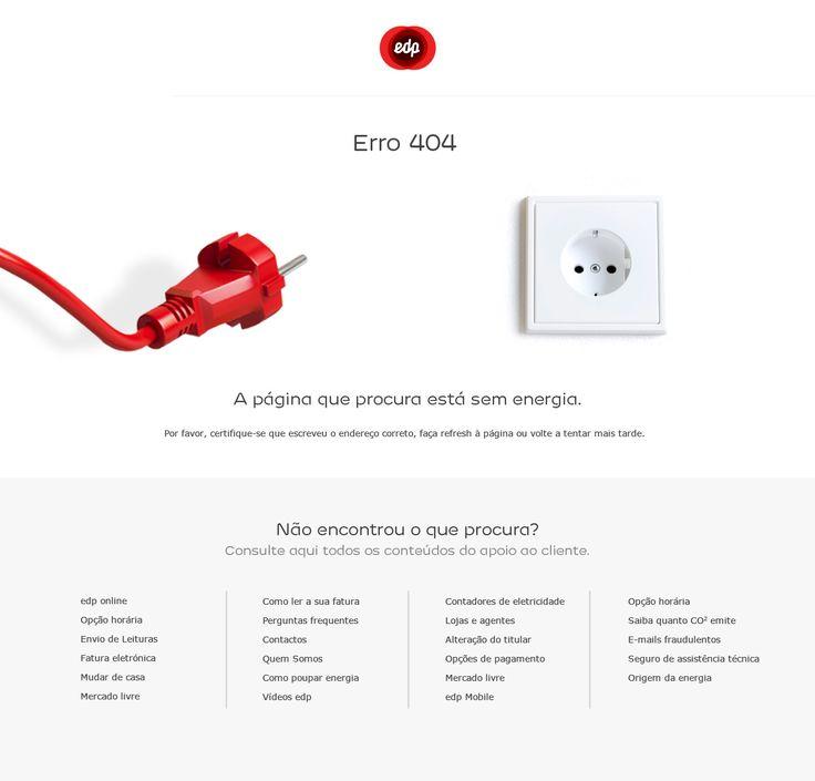 Energia Edp. Error 404