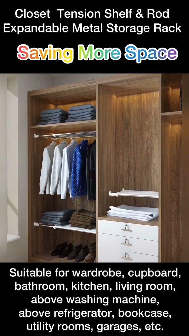 Laundry Room Storage, Kitchen Cabinet Organization, Closet Organization, Bathroom Storage, Storage Rack, Diy Storage, Space Saving Furniture, Cuisines Design, Modern Kitchen Design