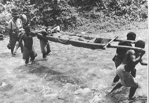 Japanese Campaign on the Kokoda Track, Papua New Guinea