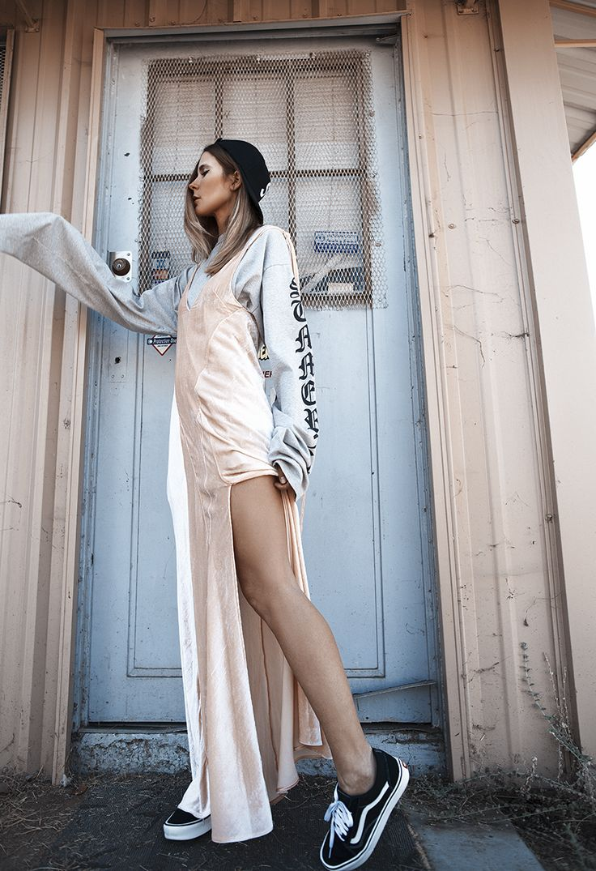 Supreme Cap, Vetements Top, Attico Dress