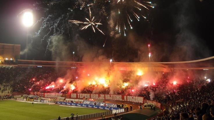 nickkelly @ Crvena Zvezda-Partizan