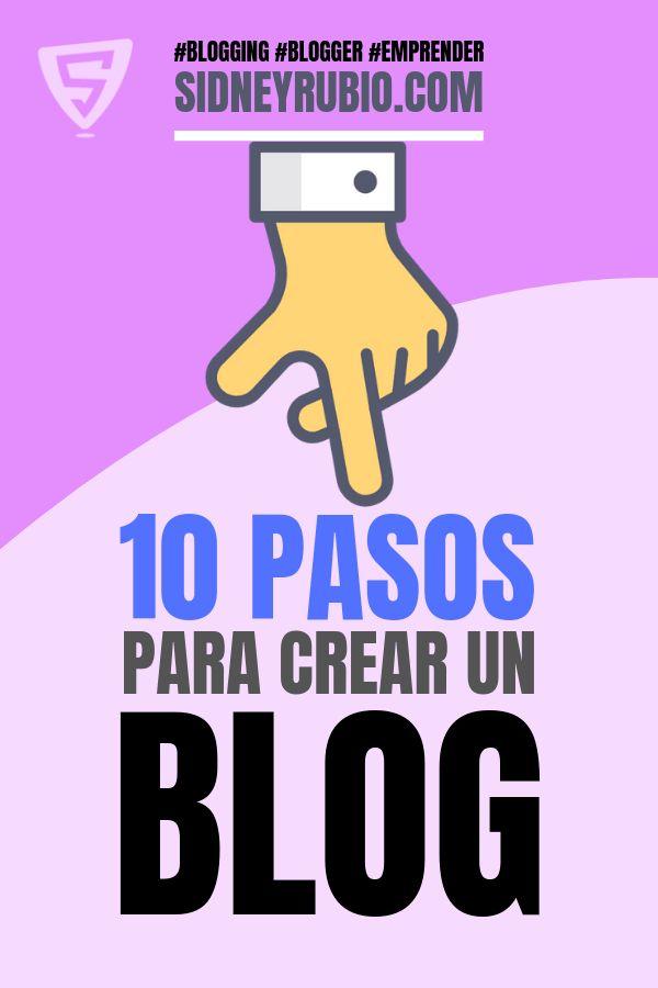 👉【10 PASOS】 para crear un blog rentable 🥇Tutorial paso a paso para crear tu negocio online